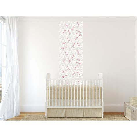 papier peint chambre bebe papier peint flamants roses pour chambre de bébé
