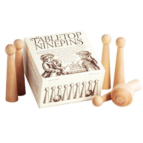 tabletop ninepins eparks   purchase supports