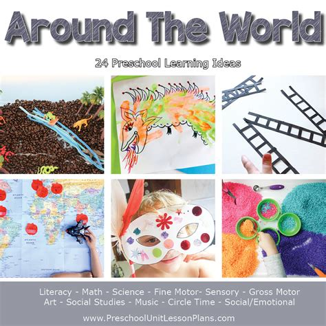 a year of preschool lesson plans bundle where 377 | Preschool Lesson Plans Around the World