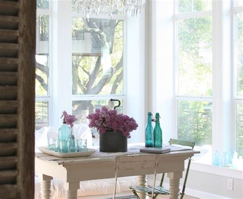 Inspired Drafting Table Ikea In Dining Room Shabby Chic With Chair Covers Next To Queen Anne
