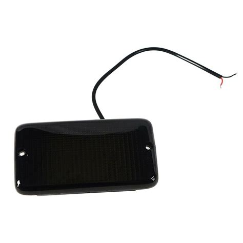 ambersmoked led high power turn signals  fits jeep