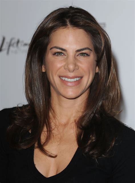 Jillian Michaels Long Center Part   Jillian Michaels Hair