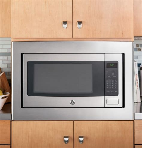 ge countertop microwave ge peb7226sfss 2 2 cu ft countertop microwave oven with