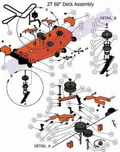 Bad Boy Mower Part  2012 Zt 60 U0026quot  Deck Assembly