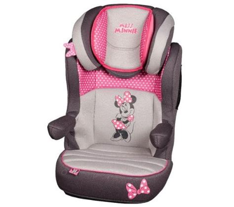 siege auto bebe minnie disney rehausseur dossier 2 3 r way sp luxe minnie siège