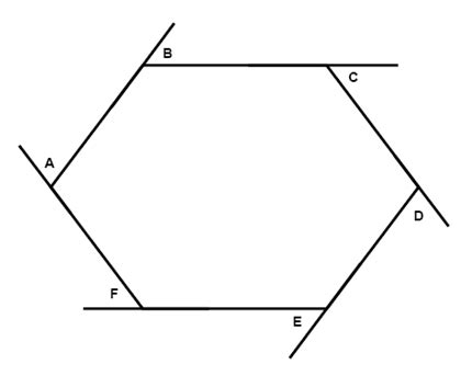 interior angle formula  hexagon awesome home