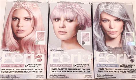 L'oreal Feria Smokey Pastels Haircolour