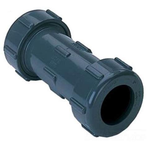 dresser couplings for pvc pipe s110 60 dresser coupling 6 pvc plumbersstock