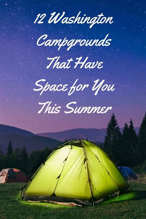 campgrounds washington summer space state allmomdoes