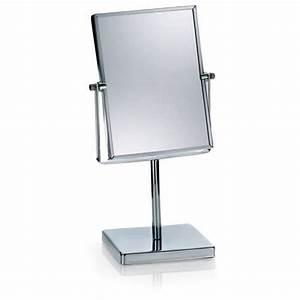 Miroir Sur Pied : miroir salle de bain miroir sur pied rectangulaire felisa achat vente miroir salle de bain ~ Teatrodelosmanantiales.com Idées de Décoration