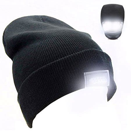 knit hat with led lights 5 led cap beanie hat light l unisex fitted