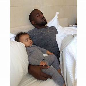 North West's Pierced Ears, Kim K's Father's Day Post ...