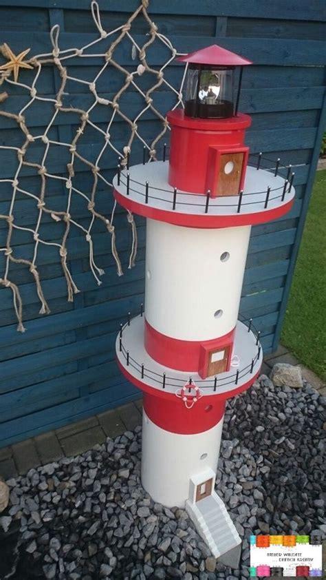 leuchtturm modell selber bauen wie aus einem abflussrohr ein leuchtturm wurde