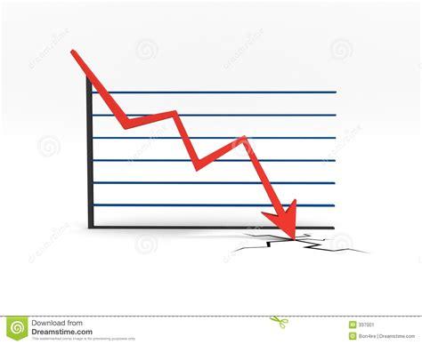 Falling Chart Stock Image - Image: 337001