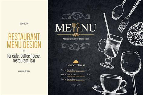 Ampersand organic swiss water process cascadia decaf, medium roast. Restaurant menu design with a sketch in 2020   Menu design ...
