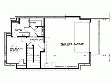 2 house plans with basement house floor s with basement and craftsman house