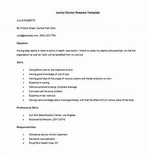 17  Doctor Resume Templates