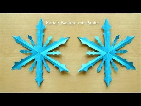 schneeflocken basteln papier schneeflocken basteln basteln winter basteln mit papier winterdeko