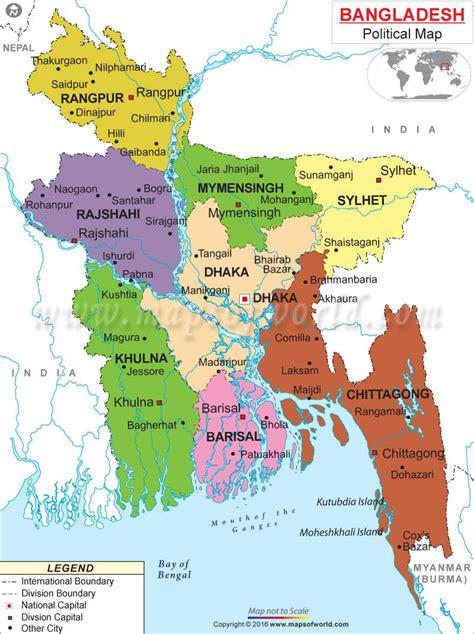 bangladesh  map map  bangladesh southern asia asia