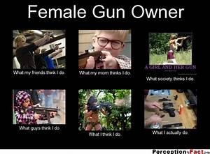 Female Gun Quot... Funny Gun Owner Quotes