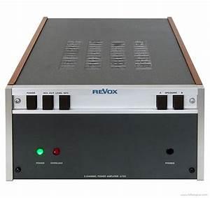 Revox A722 - Manual - Two Channel Power Amplifier