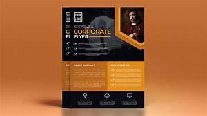 Free, Creative, Corporate, Psd, Flyer, Design, U2013, Graphicsfamily
