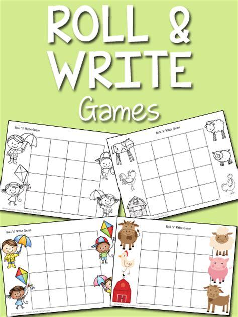 roll n write prekinders 463 | roll write game2