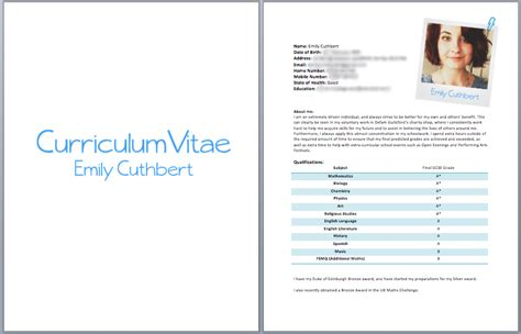 How To Right A Cv by How To Write A Cv Fotolip Rich Image And Wallpaper