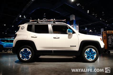 sema show jeep renegade trailhawk frostbite