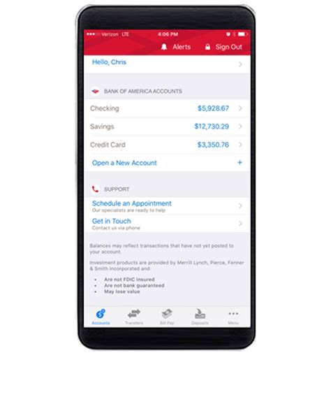 banking from bank of america enroll today