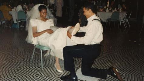 michelle  barack obama dated   met