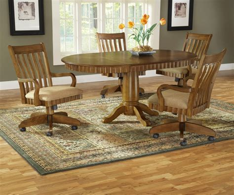 dining table with rolling chairs dining table dining table sets rolling chairs