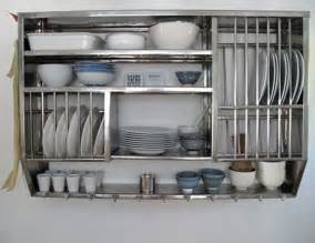 kitchen dish rack ideas stainless steel kitchen shelves