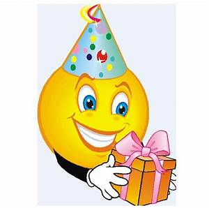 Smiley Face With Party Hat Clipart (24+)