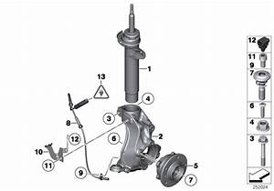 31206877562 - Wheel Hub With Bearing  Front  M12x1 25  Suspension