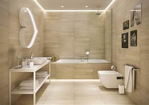 Wandfliesen Bad Holzoptik : carrelage salle de bain imitation bois 34 id es modernes ~ Markanthonyermac.com Haus und Dekorationen