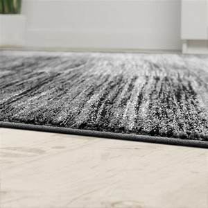 Wohnzimmer Teppich Grau : designer teppich modern wohnzimmer teppiche kurzflor karo meliert grau schwarz teppiche kurzflor ~ Whattoseeinmadrid.com Haus und Dekorationen