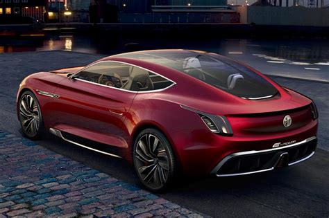 All Electric Cars by All Electric Mg E Motion Concept Is Supercar For