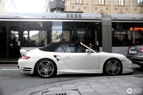 porsche  turbo cabriolet techart  january