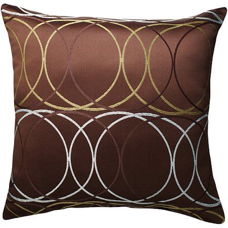 Throw Pillows For Walmart by Better Homes And Gardens Metro Ovals Decorative Pillow