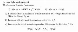 Definitionsbereich Berechnen : definitionsbereich partielle ableitungen mit ~ Themetempest.com Abrechnung