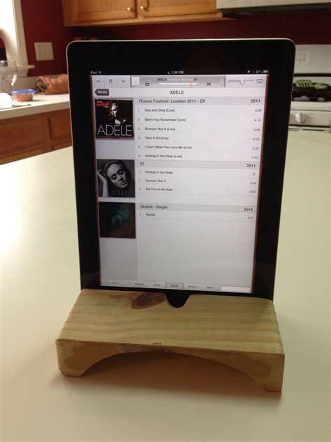 ipad stand  natural speaker amplifier