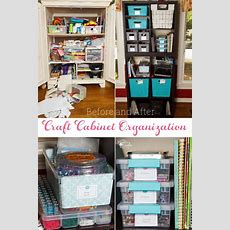 Great Craft Cabinet Organization Ideas For Small Spaces