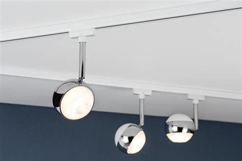eclairage sur rail plafond eclairage tableau eclairage sur rail plafond led spot capsule 4 5w paulmann