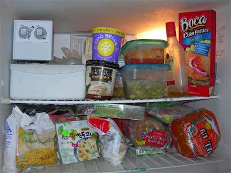 Vegan Crunk Inside My Messy Freezer