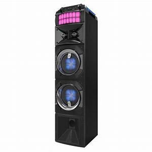 Lenoxx, Bt9350, Bluetooth, Speaker, With, Led, Lights, Aux