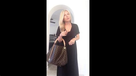 ootd outfit   day louis vuitton monogram artsy mm youtube