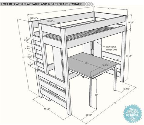 diy loft bed with desk diy loft bed with desk and storage