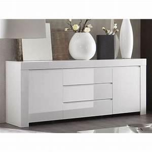 Meuble Bas Blanc Laqué : merveilleux meuble de rangement salle de bain fly 9 ~ Edinachiropracticcenter.com Idées de Décoration