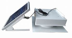 40 Watt Green House Solar Ventilation Fan  U2013 Remington Solar